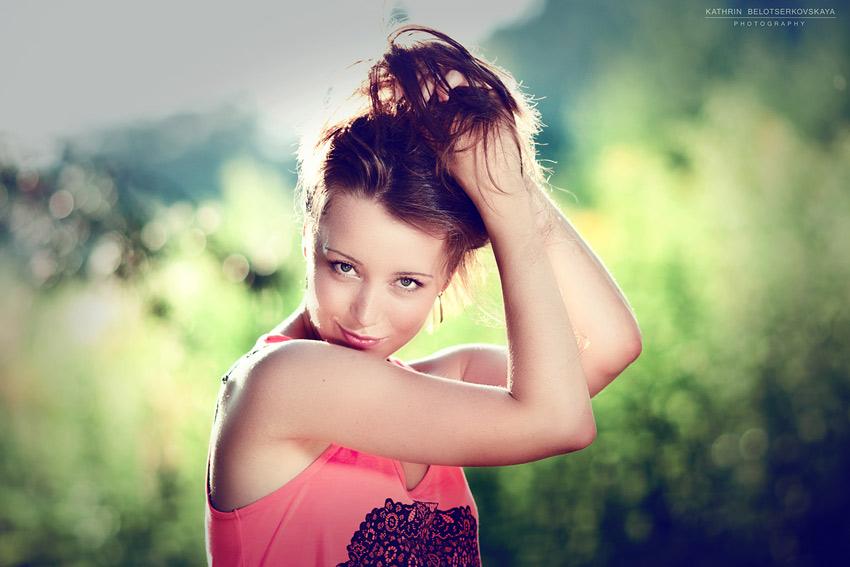 Портретная Фотосессия. Выездная фотосессия. Фотограф Катрин Белоцерковская