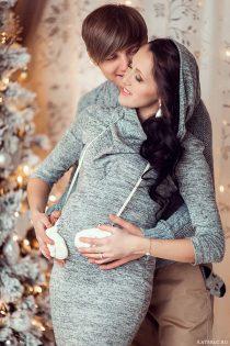 Фотосъемка для беременных в студии