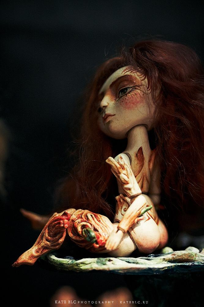 Автор: Мария Пикунова. IX Международный Салон Авторских Кукол