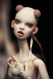 Куклы сестер Поповых. IX Международный Салон Авторских Кукол