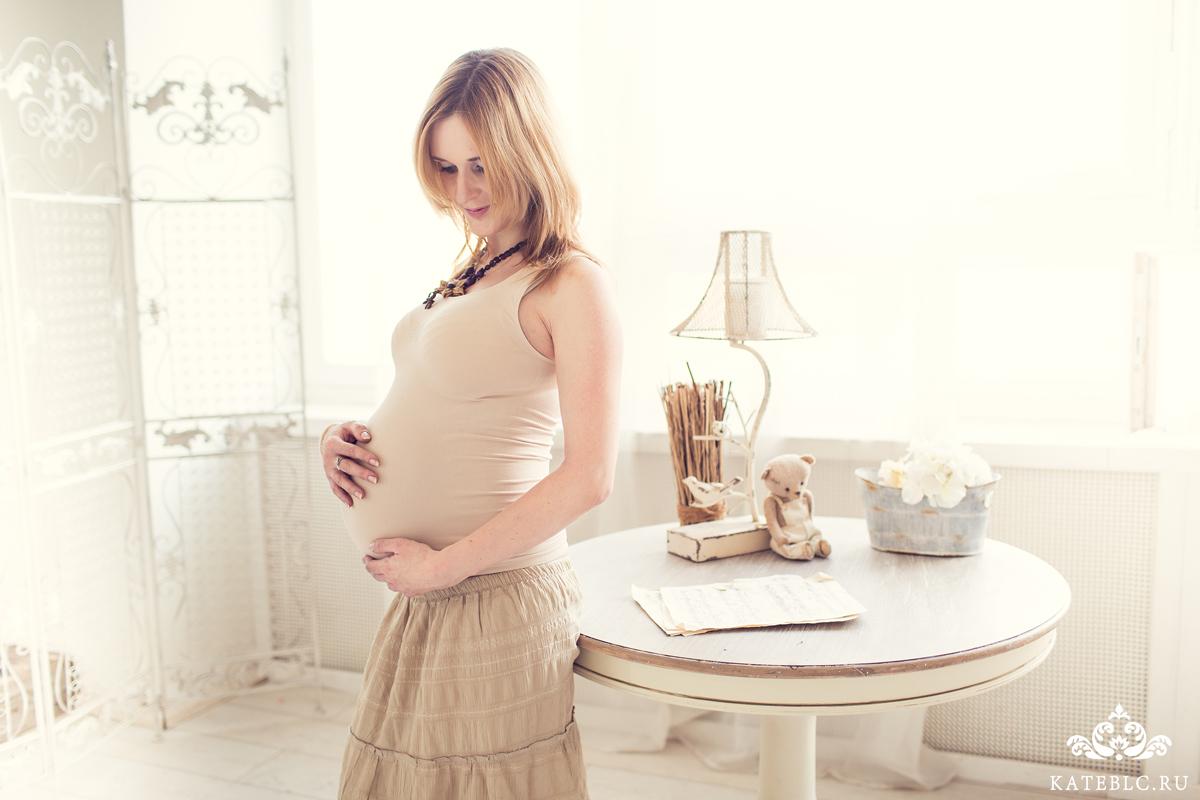 Фотосессия ожидания малыша