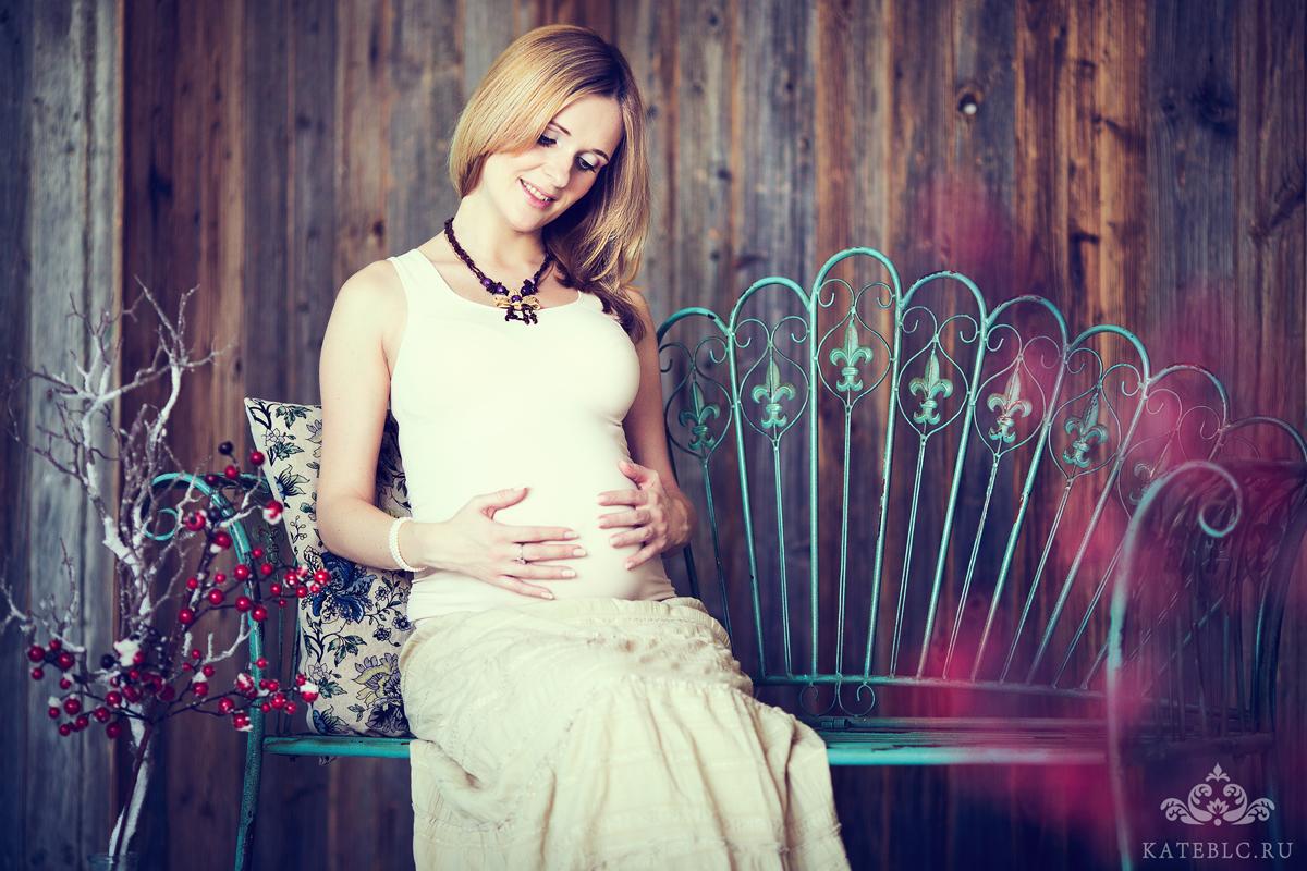 Фотосъемка беременности в студии