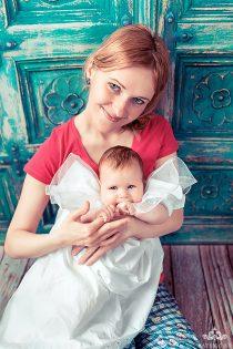 мама и дочь. семейная фотосессия в москве.