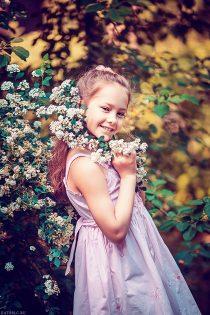 портрет девочки. детский фотограф в москве