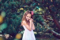 фотосессия для детей в парке