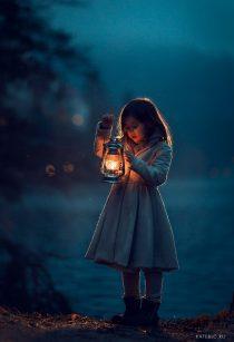 Вечерняя фотосессия для девушки на улице