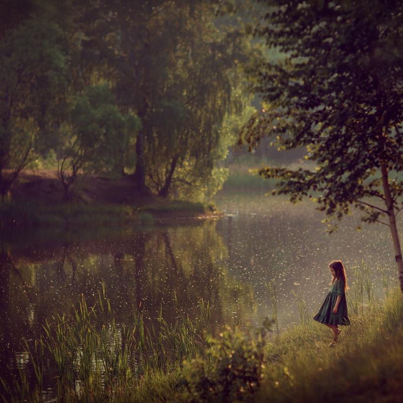 детская фотосессия на природе. Фотограф Катрин Белоцерковская