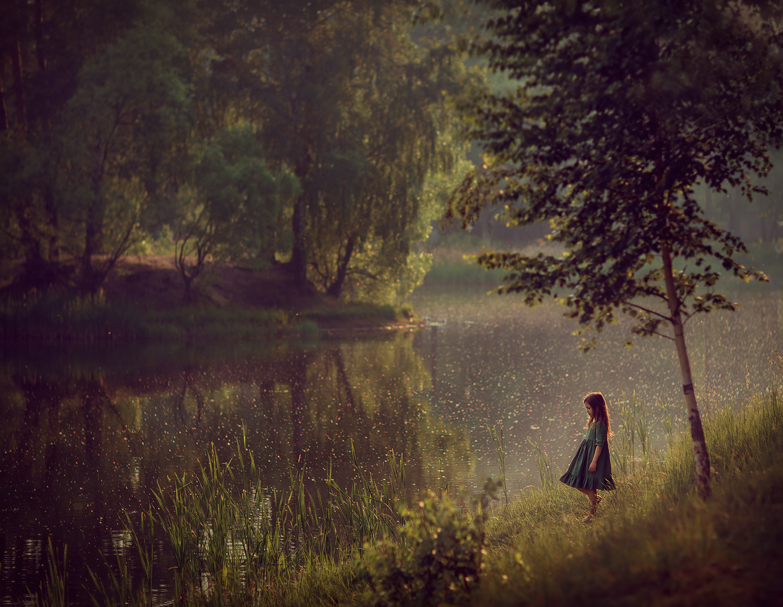 детская фотосессия на природе. Фотограф Катрин Белоцерковскя