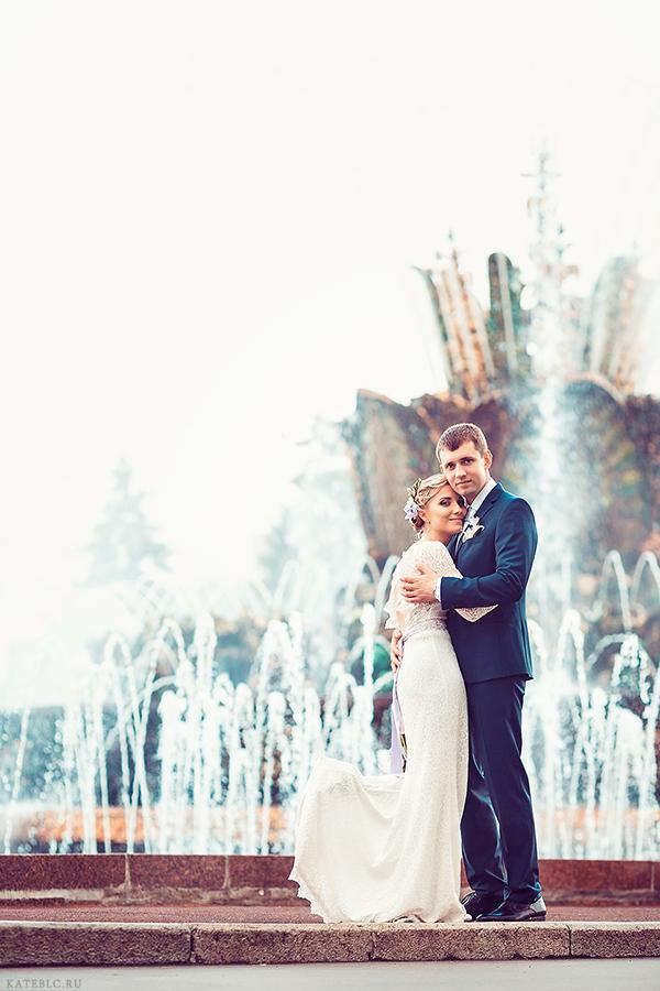 Свадебная фотопрогулка на ВВЦ