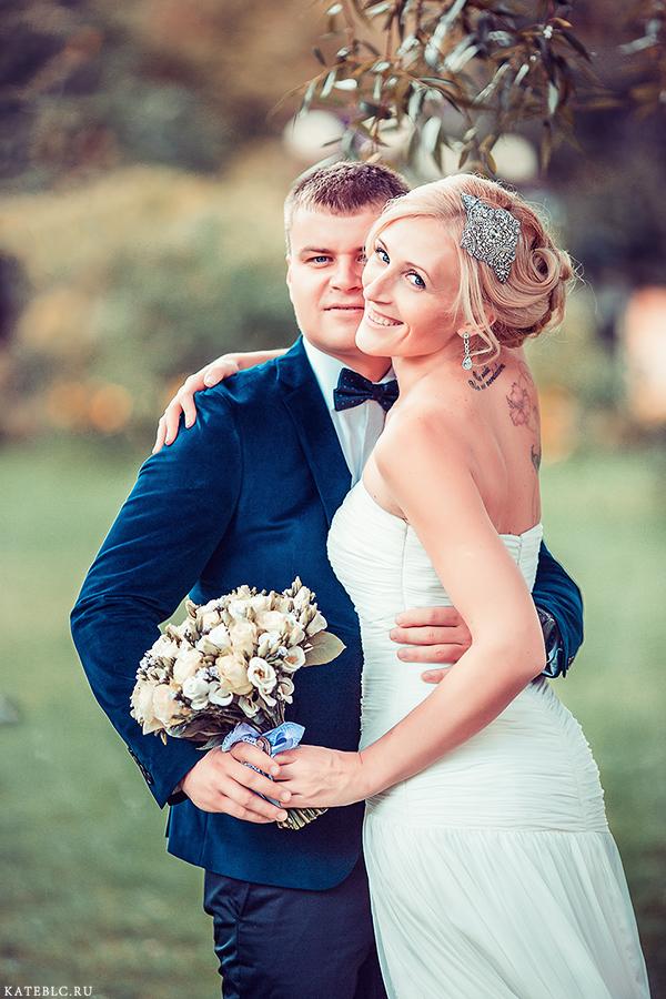 <strong>Свадебная фотосессия</strong> в Екатерининском парке