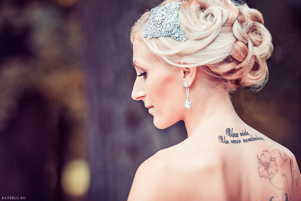 Невеста. Фотосессия на свадьбу в Москве.
