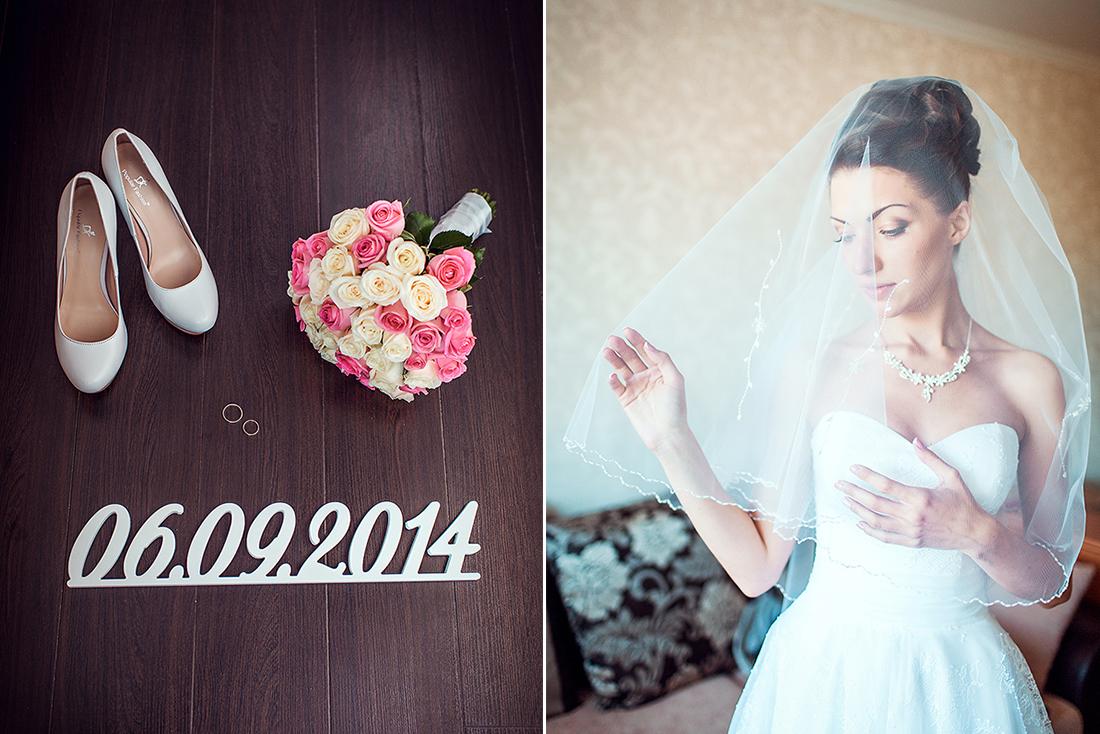 Утро невесты. Детали свадьбы