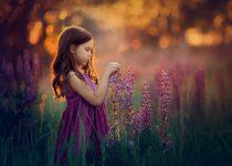 детская фотосессия летом