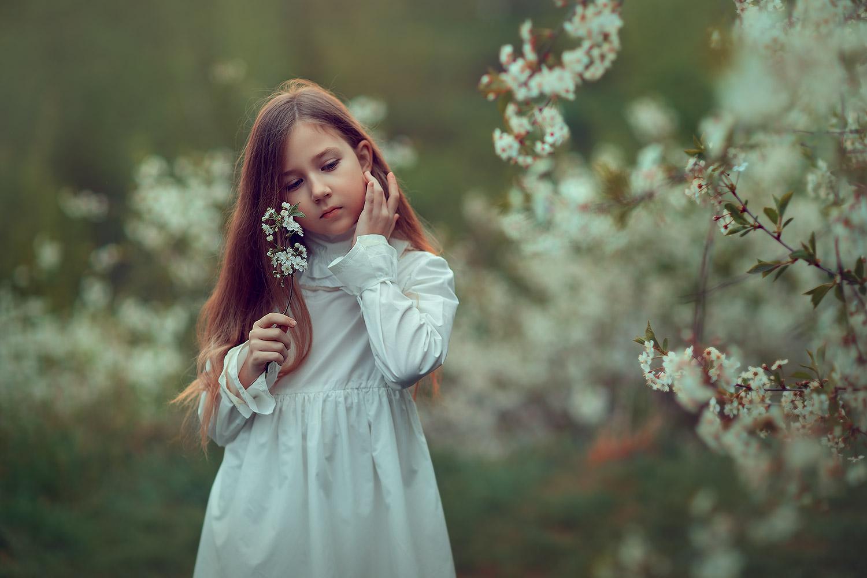 фотосессия цветения в коломенском