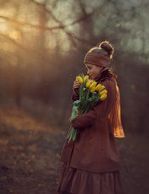фотосессия для девочки. фотосъемка в парке. детский фотограф