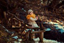Детская весенняя фотосессия в Москве на природе. Детский фотограф Катрин Белоцерковская. Kateblc.ru