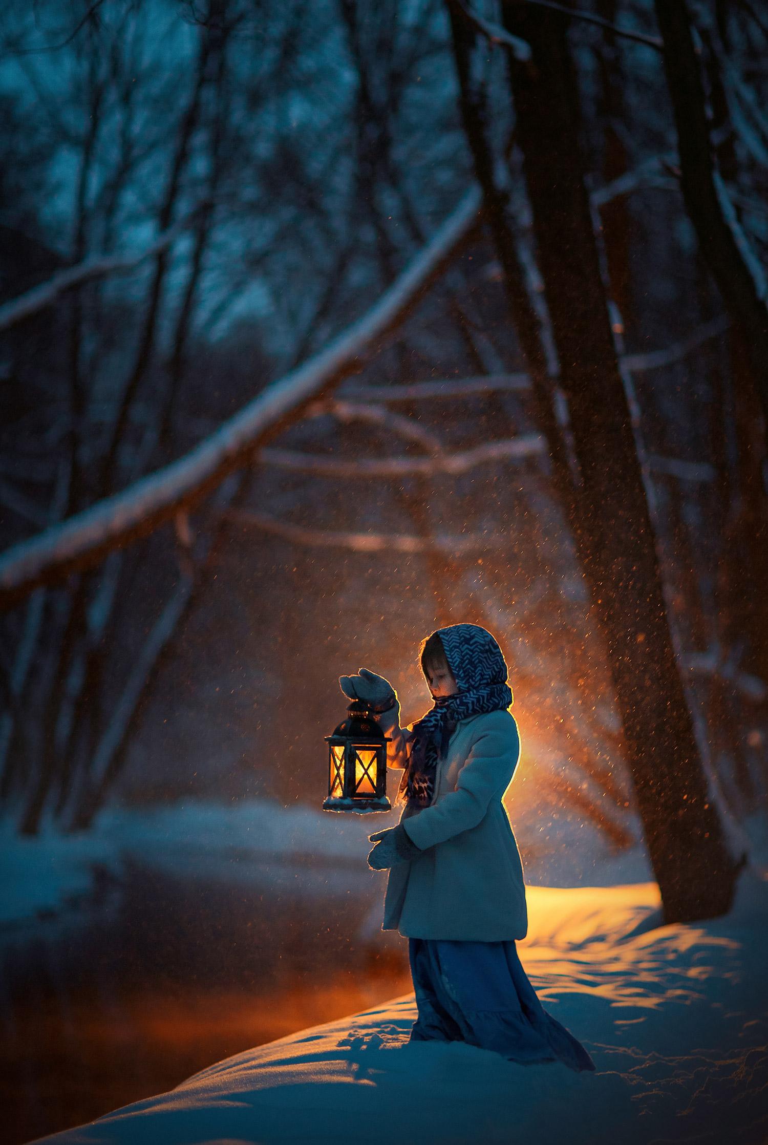 зимняя фотосессия в москве