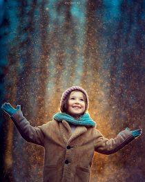 Фотосессия для девочки на природе в Москве