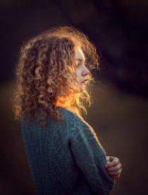 портретная фотосессия для девочки 14 лет в студии и на природе