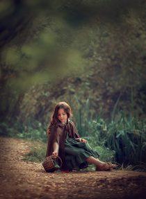 Фотосессия в парке для девочки