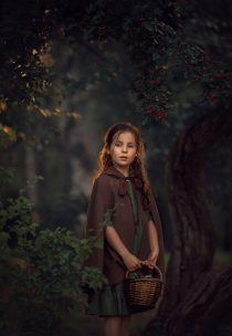 фотосессия в лесу для девочки