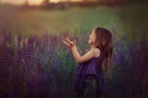 фотосессия в люпинах. детский фотограф Катрин Белоцерковская