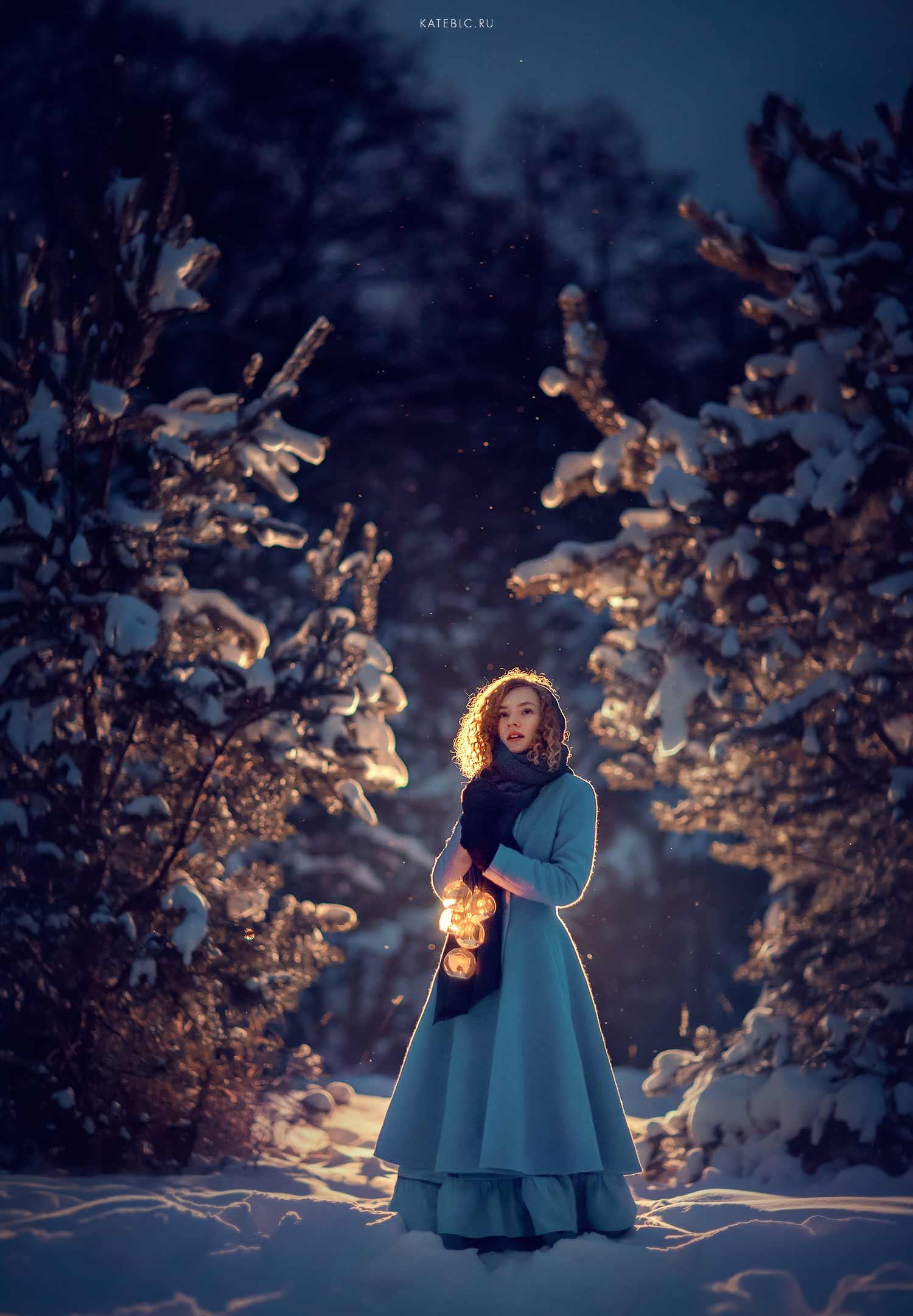 зимняя фотосессия в Москве. Катрин Белоцерковская фотограф