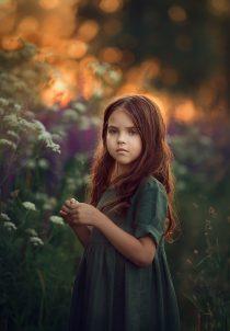 портретная фотосессия для девочки. детский фотограф москва