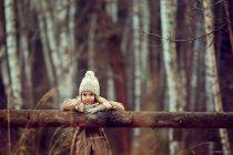 осенняя фотосессия для девочки