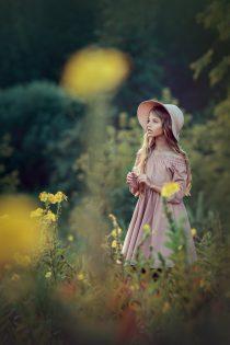 Фотосъемка для девочек на природе