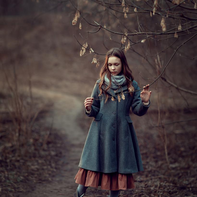 Фотосессия для девочки в парке