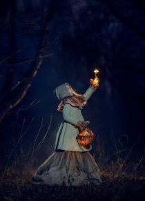 Фотосессия со светящимися грибами