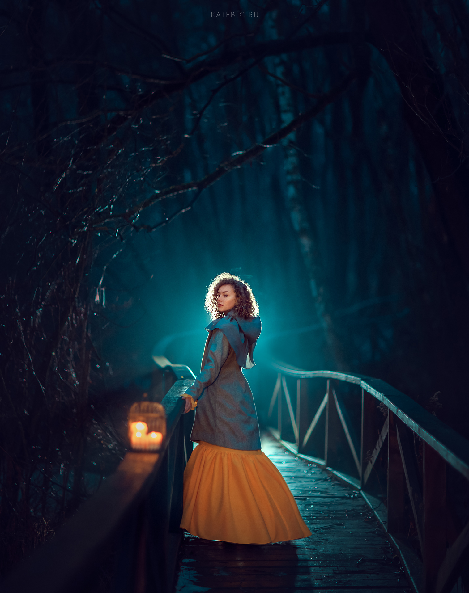 вечерняя фотосессия для девочки в парке. night magical photography