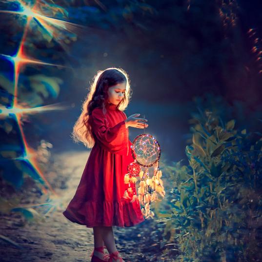 девочка и ловец снов