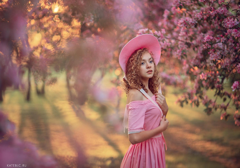 Фотосессия на рассвете для девушки. Фотограф Катрин Белоцерковская