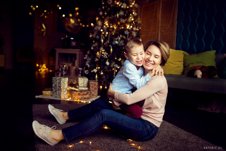 фотограф на новый год дома