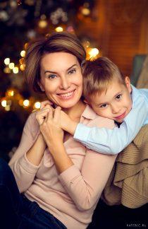 заказать новогоднюю фотосессия в москве