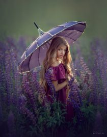 Волшебная фотосессия для девочки в Москве
