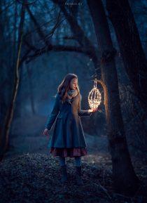 Магическая фотосессия для девочек на природе и в студии