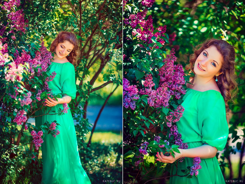 фотосессии цветения в москве