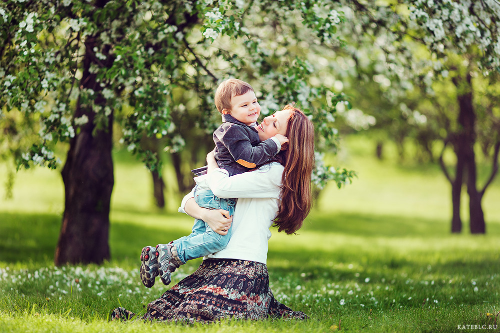 фотосессия для ребенка в парке