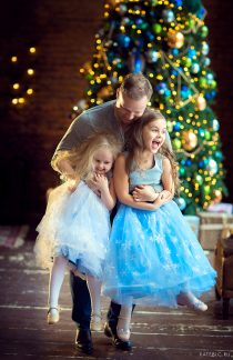 фотосессия на новый год семейный фотограф москва