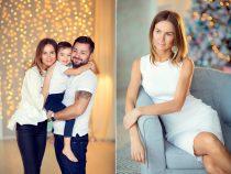 новогодняя фотосессия для семьи с детьми в фотостудии. Лучший детский фотограф Москвы Катрин Белоцерковская