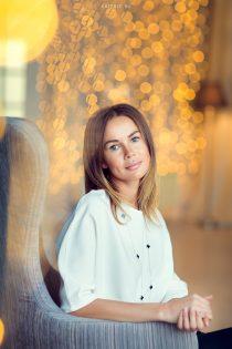новогодний портрет мамы в студии москва