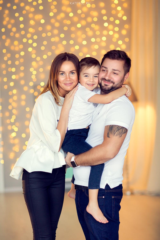 новогодний семейный фотограф в москве