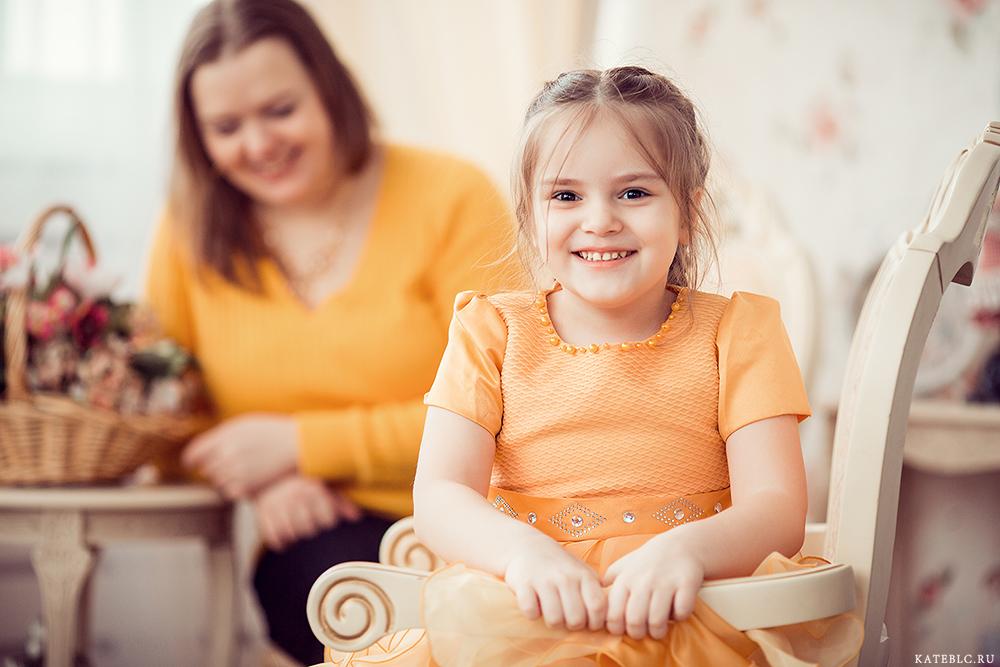 Детская фотосессия в студии в Москве