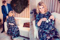 Фотосъемка для беременных в студии с реквизитом. Фотограф Катрин Белоцерковская