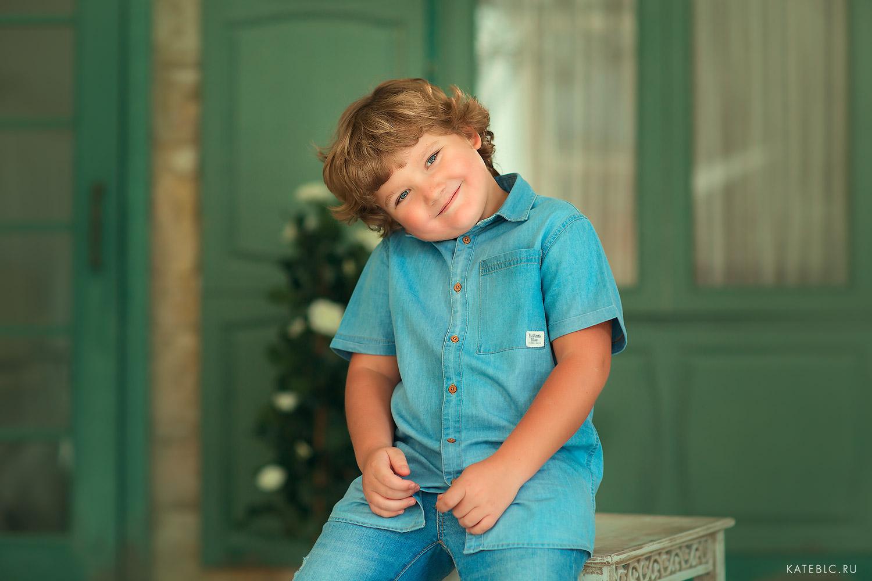 портретная фотосъемка для детей