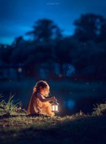 детская фотосессия в на природе