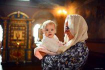 фотосессия крещения для малышей